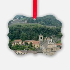 View of town square and Castello  Ornament