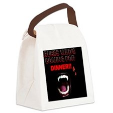 guess whos coming for dinner Canvas Lunch Bag