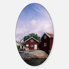 Sweden, Hohusland region, Tjorn. Fi Sticker (Oval)