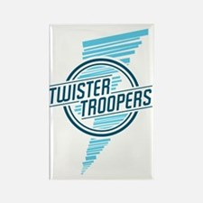 Twister_troopers_blue Rectangle Magnet