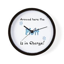 Plott Charge Wall Clock