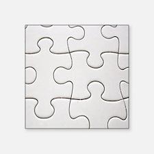 "puzzleofapuzzle Square Sticker 3"" x 3"""