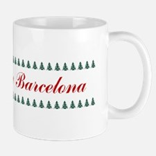 Barcelona_9.5x2_FeltChristmasStocking_T Mug