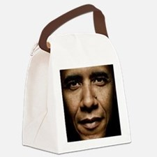 obama puzzle Canvas Lunch Bag