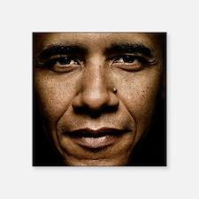 """obama puzzle Square Sticker 3"""" x 3"""""""