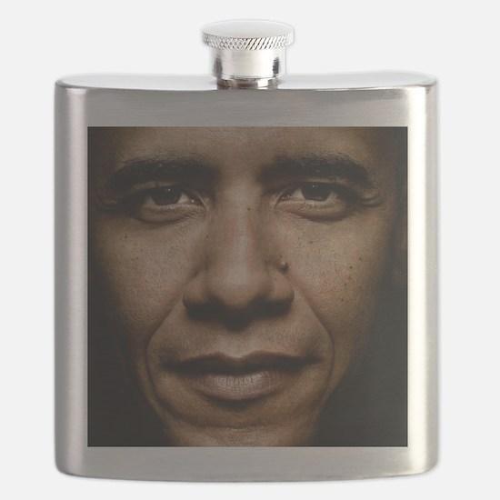 obama puzzle Flask