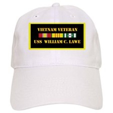 uss-william-c-lawe-vietnam-veteran-lp Baseball Cap