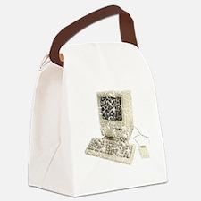 vintage-mac Canvas Lunch Bag