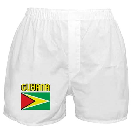 Guyana Flag Boxer Shorts
