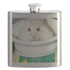 White-Albino Hamste... Flask
