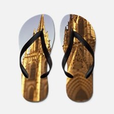 Barcelona Gothic Cathedral; select focu Flip Flops