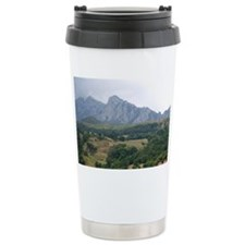 Residential homes in the Picos  Travel Mug