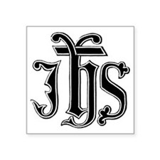 "IHS Square Sticker 3"" x 3"""