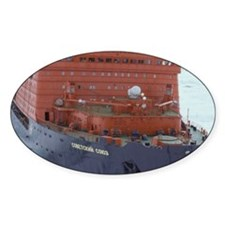 Arctic Circle. Russian nuclear powe Decal