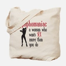 nympho Tote Bag