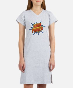 Nerd Power Women's Nightshirt