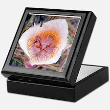 2010_0626Coxs Mariposa Lily7wlayer3 Keepsake Box