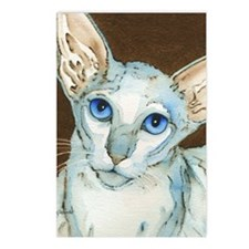 2 Oriental Shorthair 2012 Postcards (Package of 8)