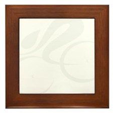 speed cycle wht Framed Tile