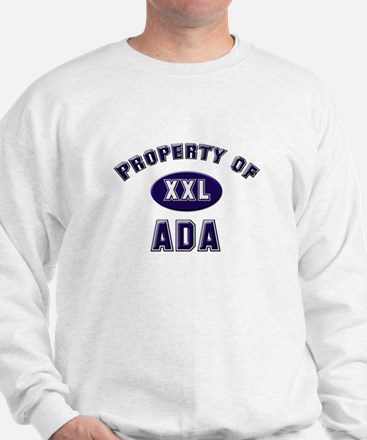 Property of ada Sweatshirt