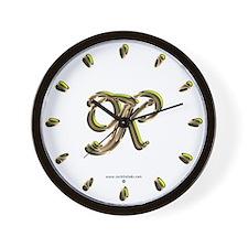 Phyllis Initial K Wall Clock