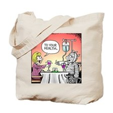 Get Well Front Tote Bag