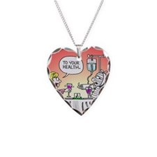 Get Well Front Necklace