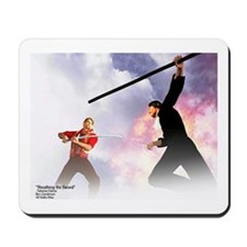 """Sheathing the Sword"" Mousepad"