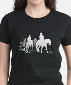 Trail Riding Women's Dark Colors T-Shirt