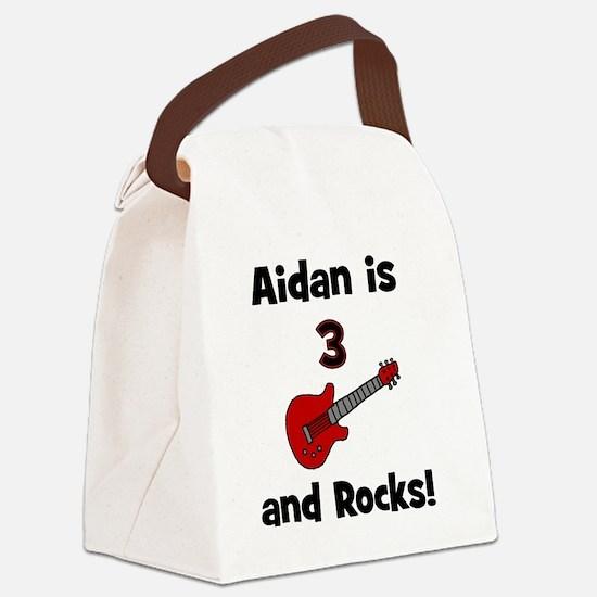 aidanis3androcks Canvas Lunch Bag