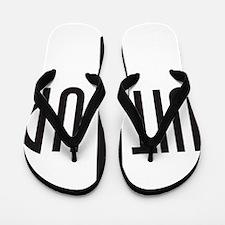 SuitUp_black Flip Flops