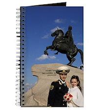 Cute Square wedding Journal