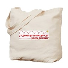 Golden Play Tote Bag