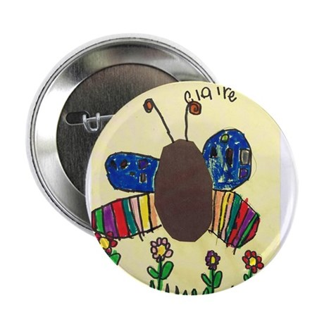 Claire's Butterfly Button