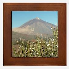 300 ft. volcano. The 3rd largest volca Framed Tile