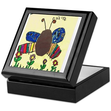 Claire's Butterfly Keepsake Box
