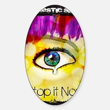 Stopitnow Sticker (Oval)
