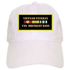 uss-brinkley-bass-vietnam-veteran-lp Baseball Cap