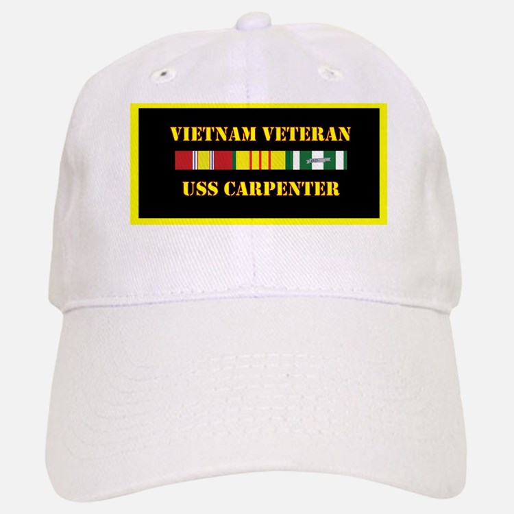 uss-carpenter-vietnam-veteran-lp Baseball Baseball Cap