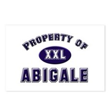 Property of abigale Postcards (Package of 8)