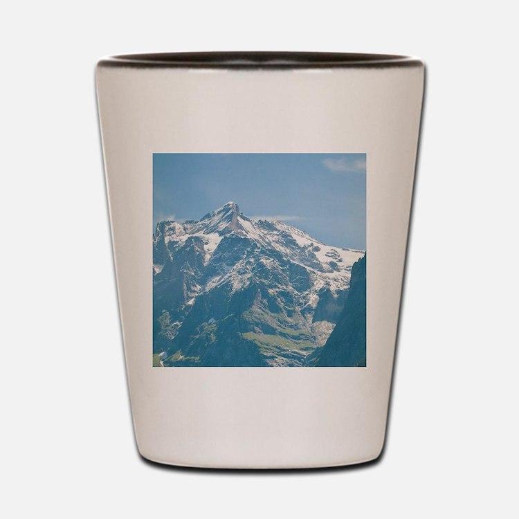 Switzerland. Grindelwald Valley below t Shot Glass