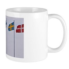 The Pier on Parapeten in the harbour. T Small Small Mug
