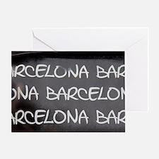Spain, Catalonia, Barcelona. Greeting Card