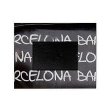 Spain, Catalonia, Barcelona. Picture Frame