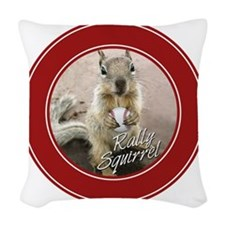 squirrel_st-louis_winners_05 Woven Throw Pillow