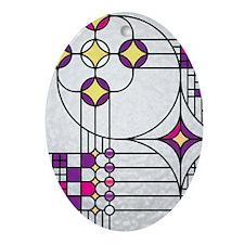 AdventWreathiPhone4Slider Oval Ornament