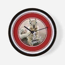 squirrel_st-louis_winners_05 Wall Clock