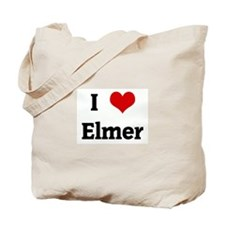 I Love Elmer Tote Bag