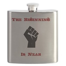 The Beginning is Near Flask