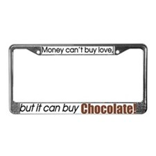 Money-Chocolate License Plate Frame